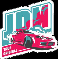 JDM True Original Racing Sticker