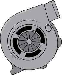 JDM Turbocharger Sticker