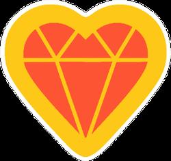 Jewel Of Love Jeweler  Illustration Sticker