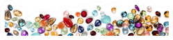 Jewels As Background Jewelry Texture Sticker