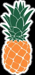 Juicy Pineapple Sticker