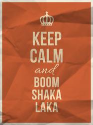 Keep Calm And Boom Shakalaka Sticker
