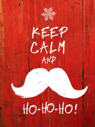 Keep Calm And Ho Ho Ho Sticker