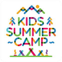 Kids Summer Camp Sticker