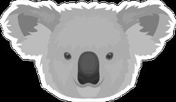 Koala Icon Sticker
