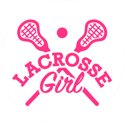 Lacrosse Girl Sticker