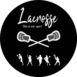 Lacrosse Poster This Is Our Sport Sticker