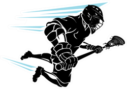 Lacrosse Super Charge Leap Sticker