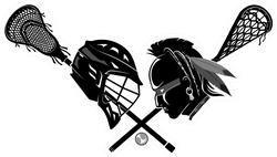 Lacrosse Versus Now And Then Sticker