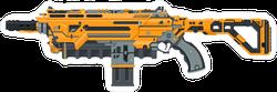Large Futuristic Sci-Fi Laser Gun Sticker