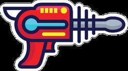 Laser Gun Toy Sticker