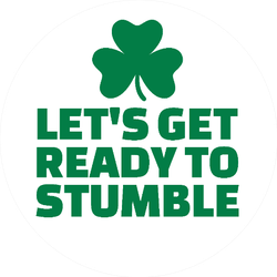 Let's Get Ready to Stumble Sticker