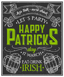 Let's Party Happy Patrick's Day Sticker