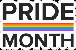 Lgbt Pride Month In June Sticker