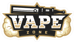 Light Vape Zone Logo Sticker