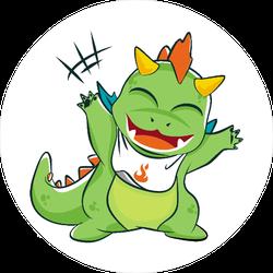 Little Baby Dragon Sticker