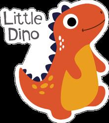 Little Cute Dinosaur Sticker