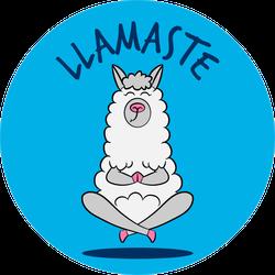 Llamaste Funny Sticker