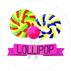 Lollipop For Candies Lovers Sticker