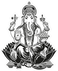 Lord Ganesha Sticker