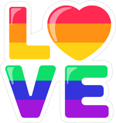 Love Icon Sticker