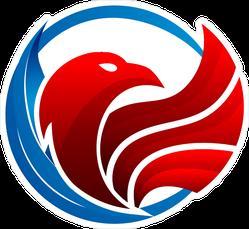 Luxury Eagle Logo Sticker
