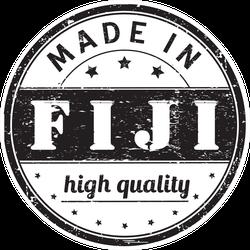 Made In Fiji High Quality Stamp Sticker