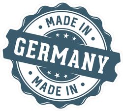 Made In Germany Seal Sticker