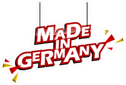 Made In Germany Sign Sticker