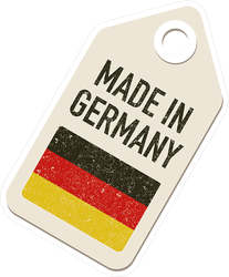 Made In Germany Tag Sticker