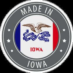Made In Iowa Sticker