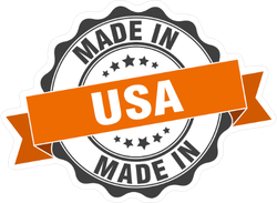 Made In USA Ribbon Seal Sticker