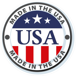 Made In USA Seal Sticker