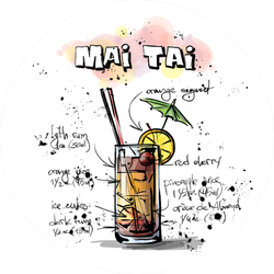 Mai Tai Sticker