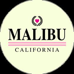 Malibu California Cute Sticker