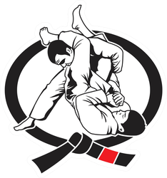 Martial Arts Logo Sticker
