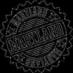 Maryland Badge Sticker