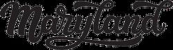 Maryland Calligraphy Sticker
