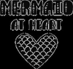 Mermaid At Heart Sticker