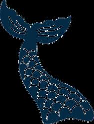 Mermaid's Tail Sticker