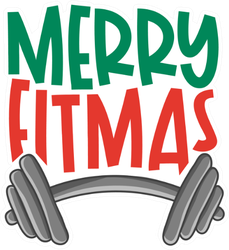 Merry Fitmas Sticker