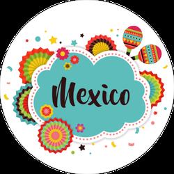 Mexican Fiesta Sticker