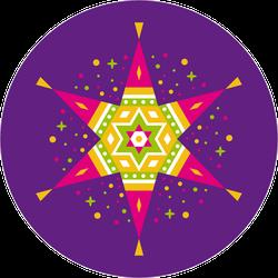 Mexico Celebration Pinata Sticker