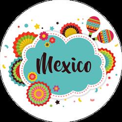 Mexico Fiesta Sticker