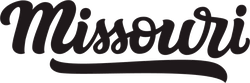 Missouri Calligraphy Sticker
