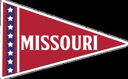 Missouri Pennant Sticker