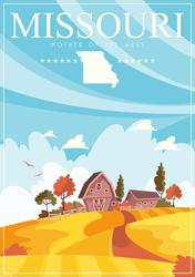 Missouri Travel Sticker