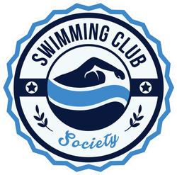 Modern Sports Club Swimming Sticker