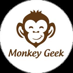 Monkey Geek Sticker
