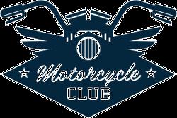 Motorcycle Club Handlebars Sticker